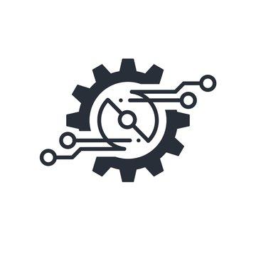 Electronic Engineering. Vector icon.