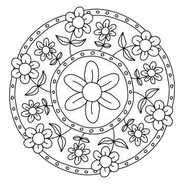 Mandala – Blumen
