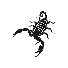 scorpion icon illustration isolated vector sign symbol