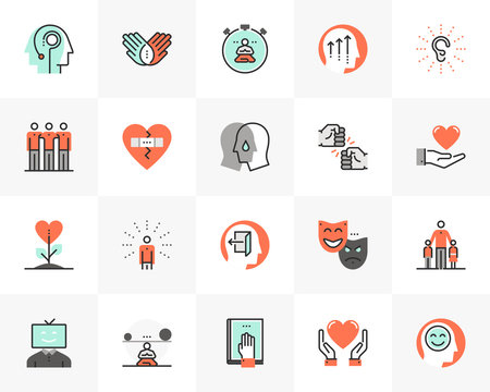 Human Wellness Futuro Next Icons Pack