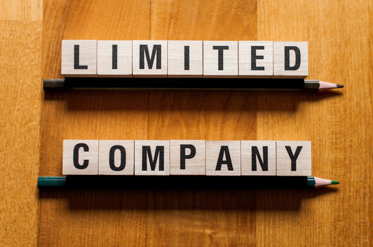 Limited company words concept