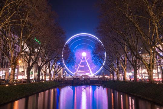 Düsseldorf Kö Wheel of Vision,