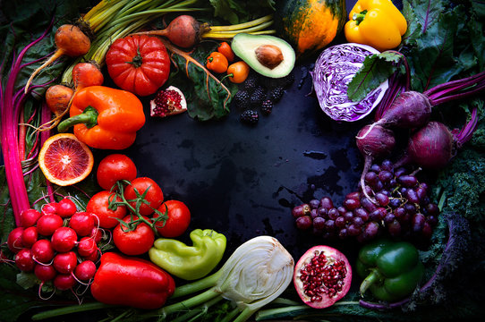 Summer Produce - Colorful produce