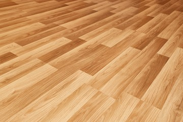 Parquet floor of a room