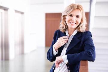 Porträt einer erfolgreichen Geschäftsfrau