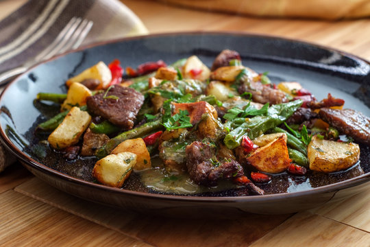 Chimichurri Steak and Potatoes