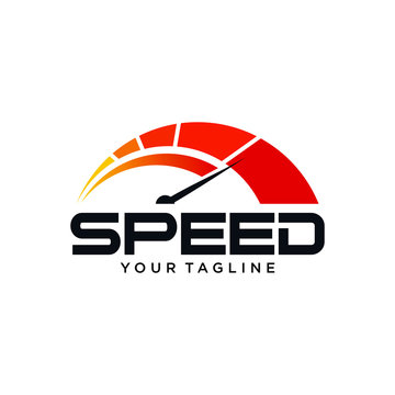speed gauge logo