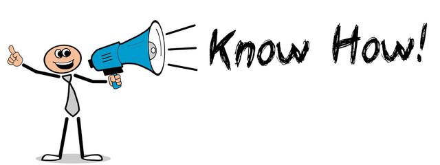 Obraz Know How!  - fototapety do salonu