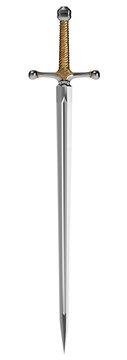 Fantasy Sword isolated on White Background