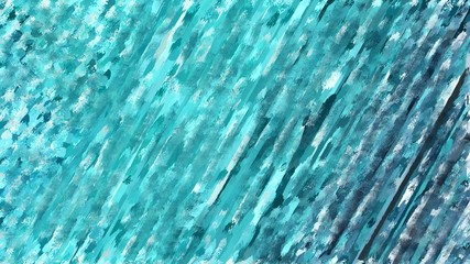 blue abstract multi colored brush painted closeup background