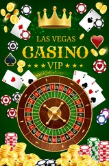 Casino poker wheel of fortune and gamble cards