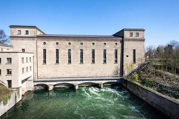 Mülheim an der Ruhr - Wasserkraftwerk Raffelberg