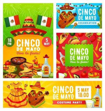 Viva Mexican Cinco de Mayo, Mexico holiday fiesta