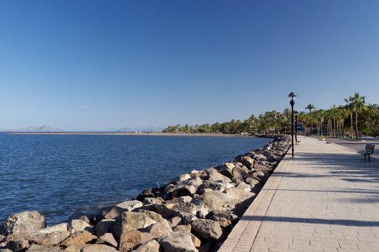 seafront loreto Baja California mexico