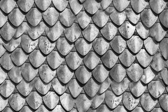 Stell armour seamless element made of the steel plates. Knight protection suite