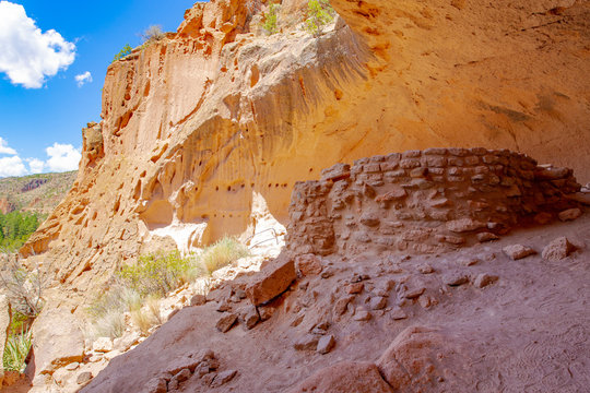 Bandelier National Monument in New Mexico, USA