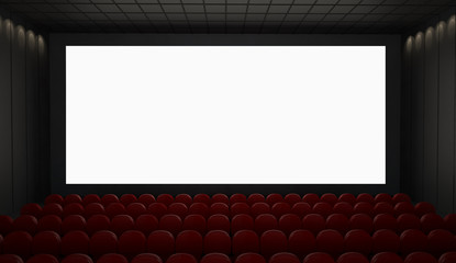 cinema screen mockup