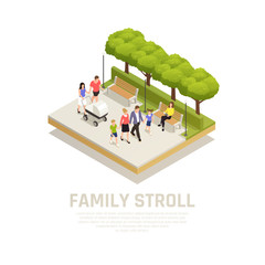 Family Stroll Concept
