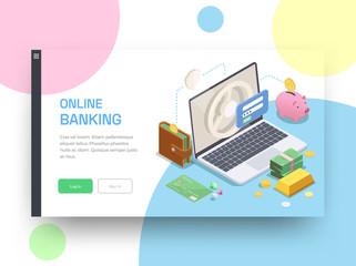 Online Bank Website Design