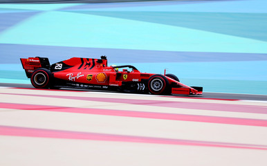 Formula One F1 - Bahrain Ferrari Testing