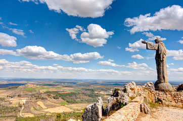 Foto op Plexiglas Zalm Castelo Rodrigo, Portugal