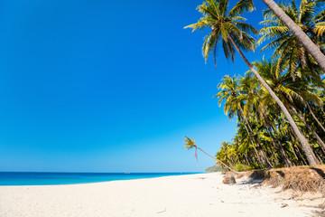 Stunning beach in Myanmar