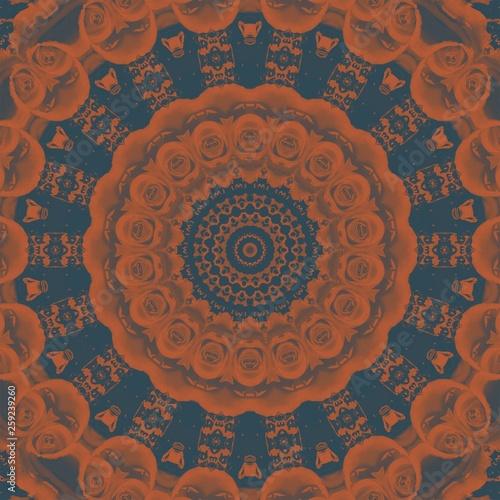 vintage pattern abstract symmetry kaleidoscope  wallpaper