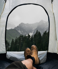 Tent lookout
