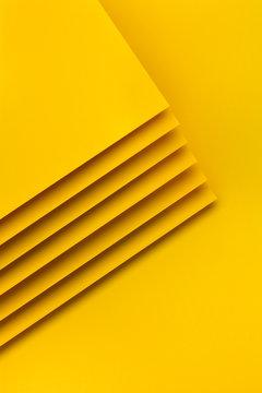 Yellow paper design