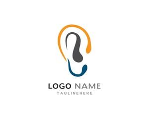 Hearing Logo vector