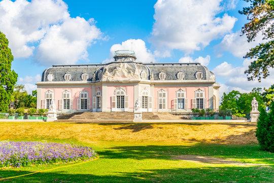 Benrath palace near Dusseldorf, Germany