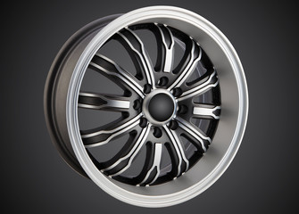 alloy wheel or rim Wall mural