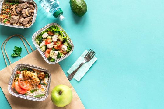 Healthy food delivery