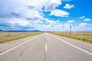 Highway 285 in New Mexico, USA - Buy this stock photo and explore