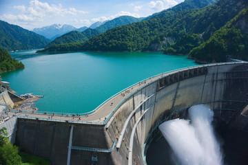 kurobe dam, Kurobe alpine,Toyama , Japan