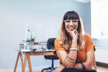 Portrait of a female entrepreneur