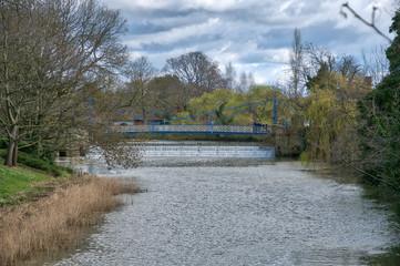 Jephson Gardens Weir