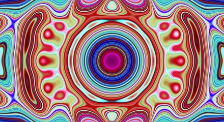 Psychedelic abstract pattern and hypnotic background for trend art,  backdrop.