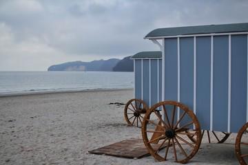 badewagen am strand