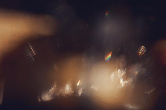 Gold light leaks