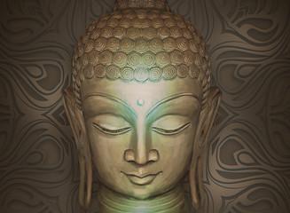 Head Smiling Buddha