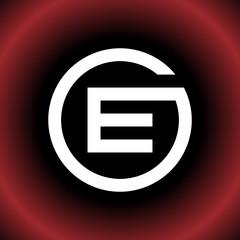 Obraz Circular Letter E GE OE CEG Vector Logo Design - fototapety do salonu