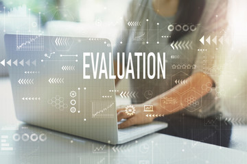 Evaluation with woman
