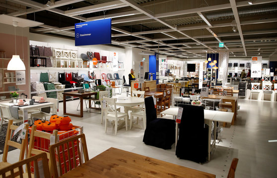 Picture shows a show room of an IKEA store, the world's biggest furniture group, in Kaarst