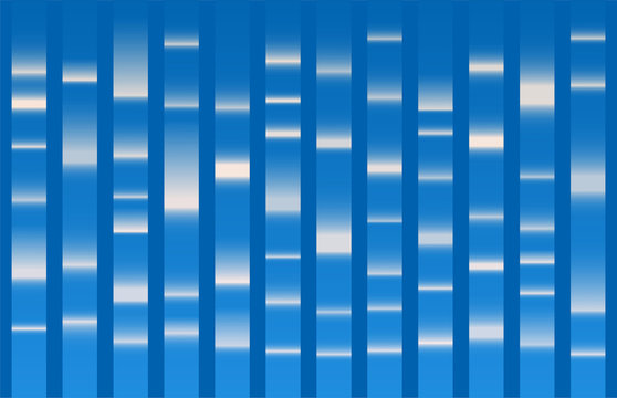 Blue Dna sequence results