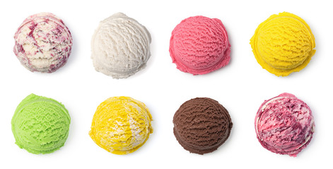 ice cream ball Wall mural