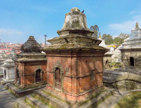 Pashupatinath Hindu temple complex, Kathmandu, Nepal