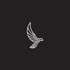 Falcon Line Art