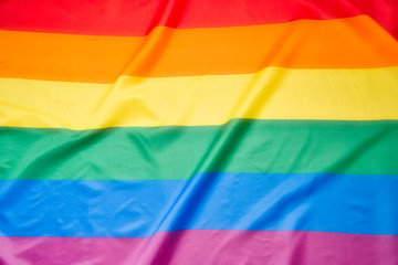 abstract colorful  gay flag background