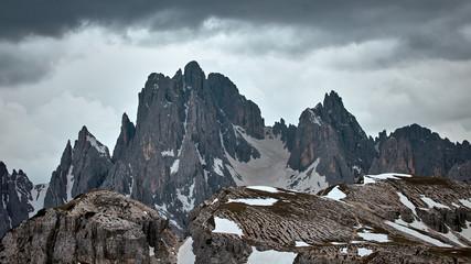 Poster Eagle Eindrucksvoller Bergblick in den Dolomiten.